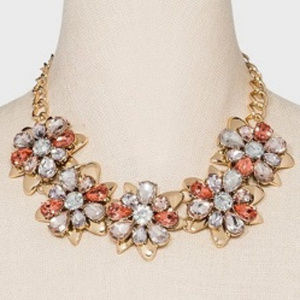 SUGARFIX By BAUBLEBAR FLORAL CRYSTAL NECKLACE**NEW